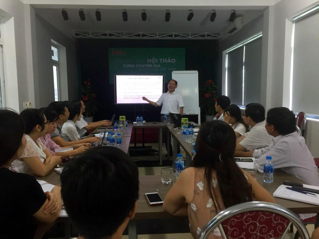 Hội thảo chuyên đề về ngành quảng cáo 3