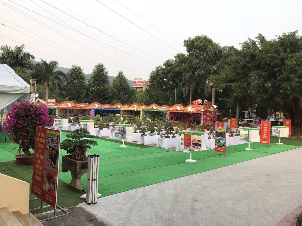 Huyện Đông Sơn đón bằng nông thôn mới trung tâm hội nghị 1