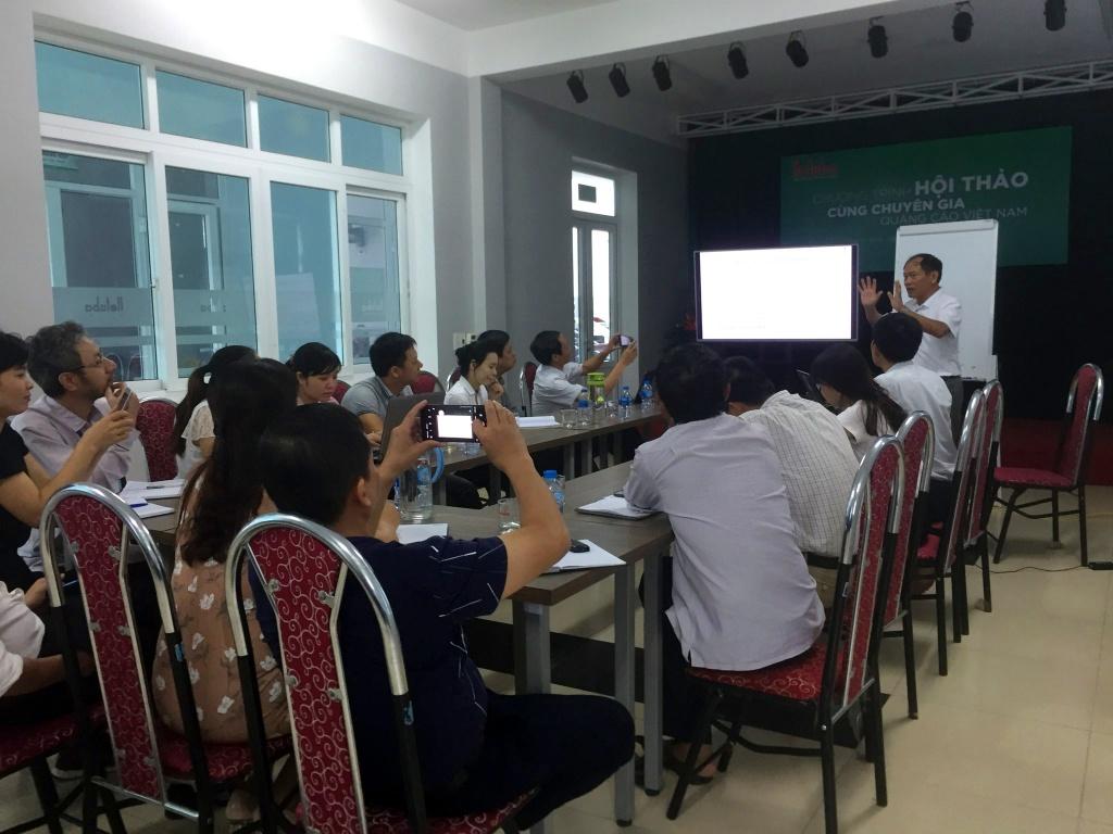 Hội thảo chuyên đề về ngành quảng cáo 4