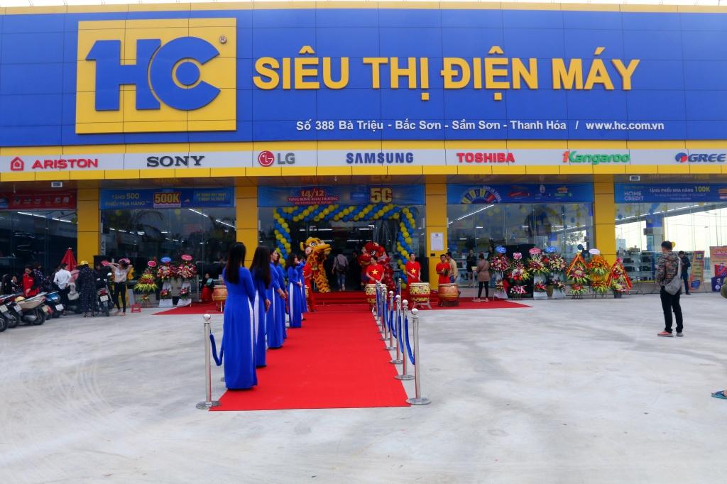lế khai trương siêu thị điện máy HC 2