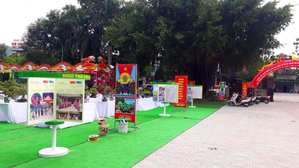 Huyện Đông Sơn đón bằng nông thôn mới trung tâm hội nghị