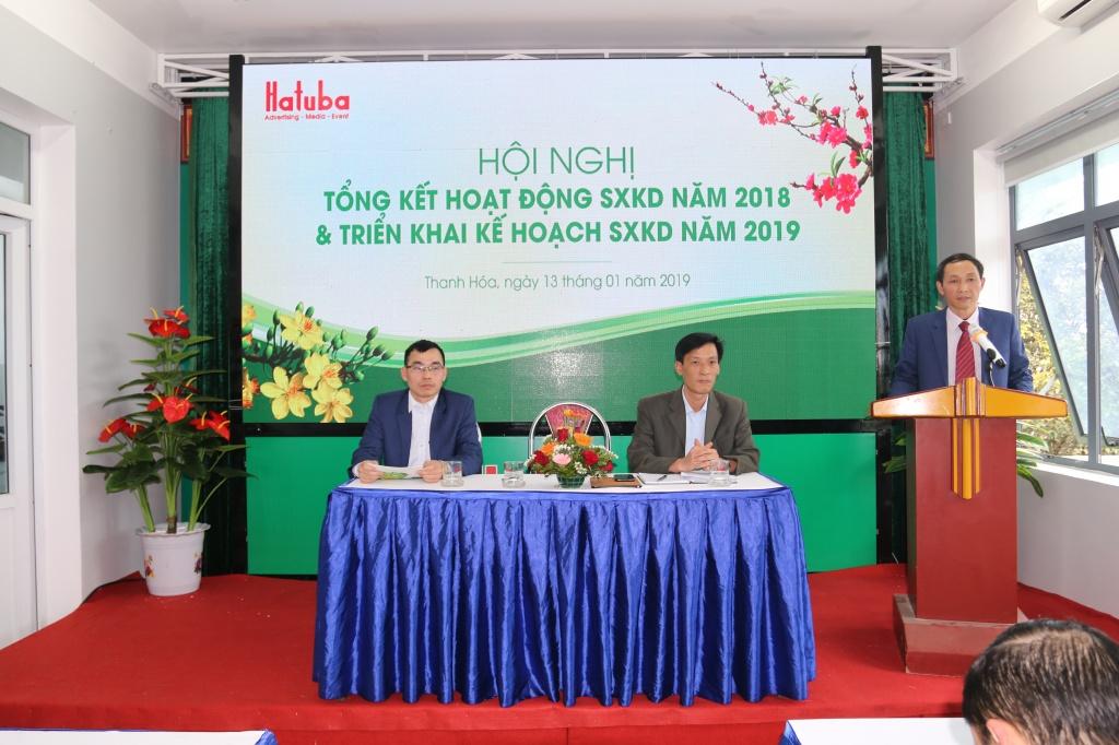 Tổng giám đốc Lê Thanh Ba phát biểu tại hội nghị.JPG
