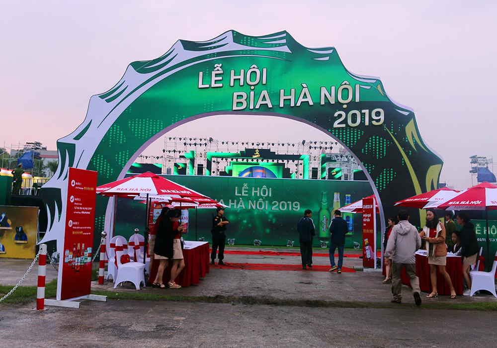 Lễ hội bia hà nội tổ chức tại quảng trường Lam Sơn