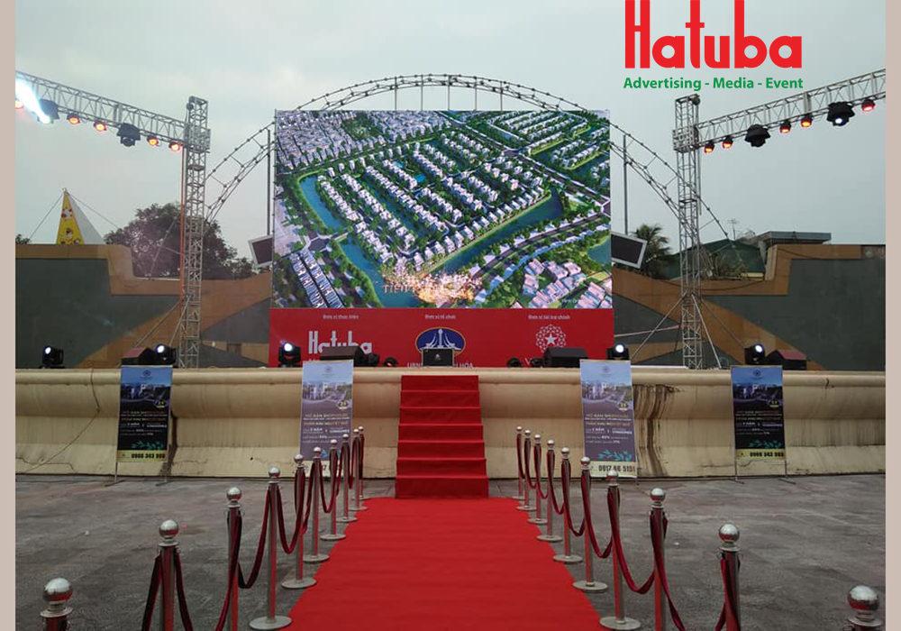 Hatuba tổ chức truyền hình trực tiếp chung kết AFF Cup tại Quảng trường Lam Sơn